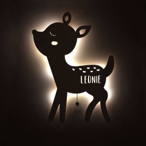 """Night light """"Rita the fawn"""" personalized for..."""