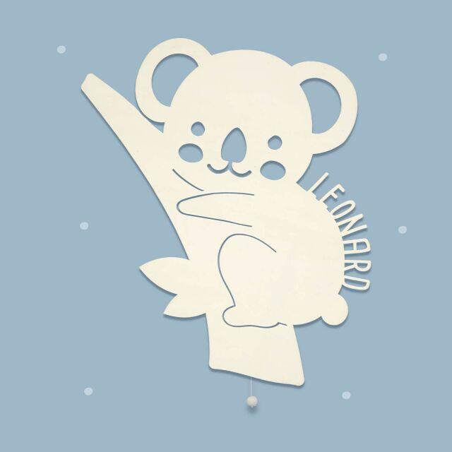 """Nachtlicht """"Kora der Koala"""" personalisiert..."""