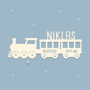 """Night light """"Zara the train"""" personalized for baby and child"""