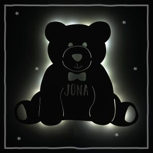 """Night light """"Theo the Teddy bear"""" personalized..."""