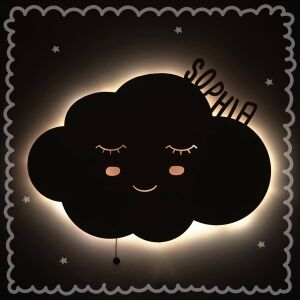 """Night light """"Wiebke the cloud"""" personalized for..."""