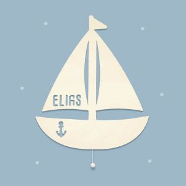 """Night light """"Saskia the sailing ship""""..."""