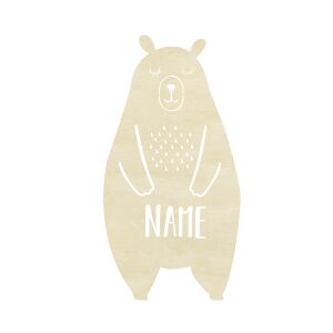 Night Light Berta the Bear personalized for Babys and Kids