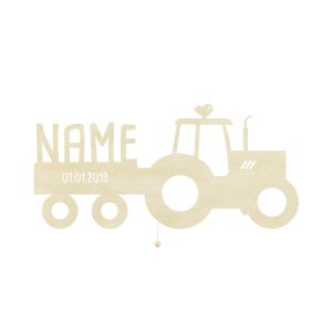 Night Light Traki the Tractor personalized for Babys and...