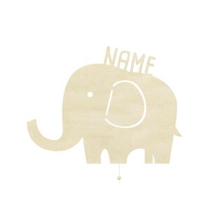 Night Light Elenor the Elephant personalized for Babys...