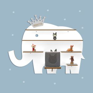 """Personalized shelf """"Elephant"""" suitable for the..."""