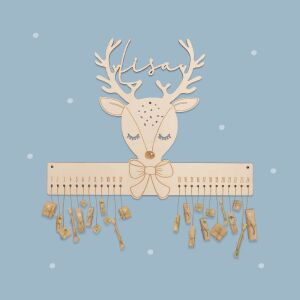 """Advent calendar """"Reindeer"""" personalized for child"""