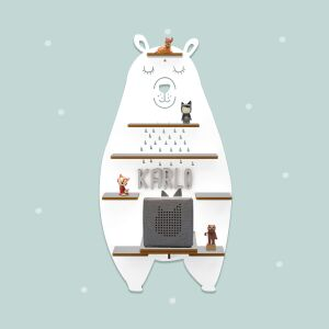 """Personalized shelf """"Bear"""" suitable for Toniebox..."""