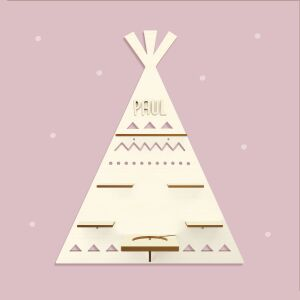 """Personalized shelf """"Tipi"""" suitable for Toniebox..."""