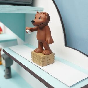 """Personalized shelf """"Lion"""" suitable for Toniebox and Tonie figurines Wall shelf for childrens music box"""
