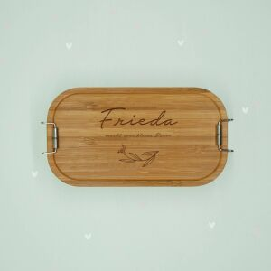 """Lunch box """"Leaves"""" personalized for kids lunch..."""