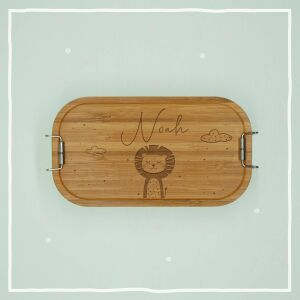 """Lunch box """"Lion"""" personalized for kids lunch..."""