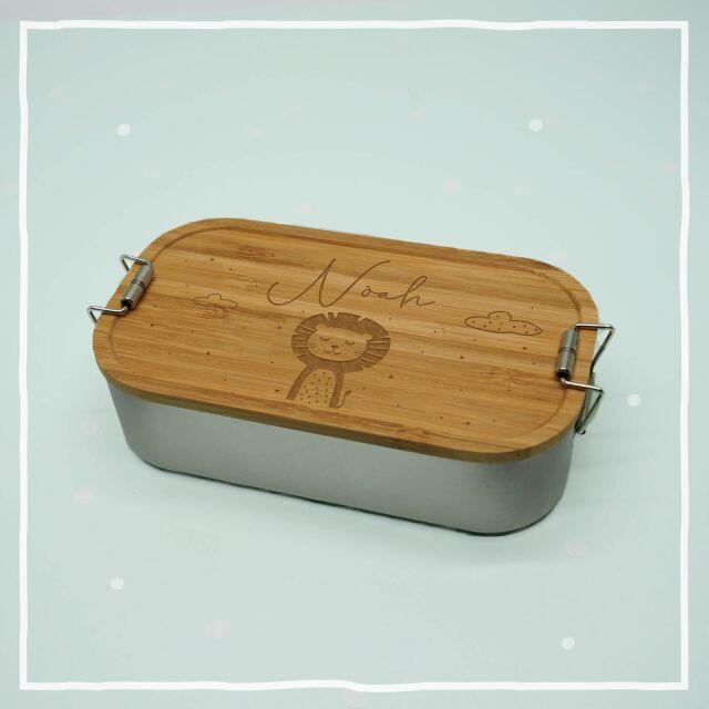"""Lunchbox """"Löwe"""" personalisiert für..."""