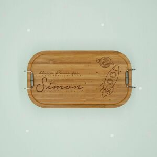 """Lunchbox """"Weltall"""" personalisiert für..."""