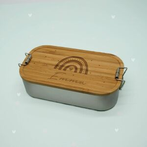 """Lunch box """"Rainbow"""" personalized for children..."""