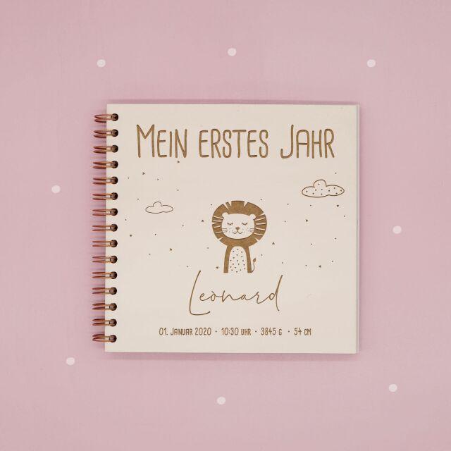 Babybuch Mein erstes Jahr - Personalisiertes...