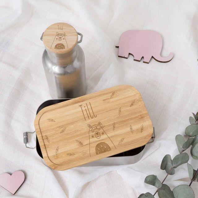 """Lunchbox & Trinkflasche """"Bär""""..."""