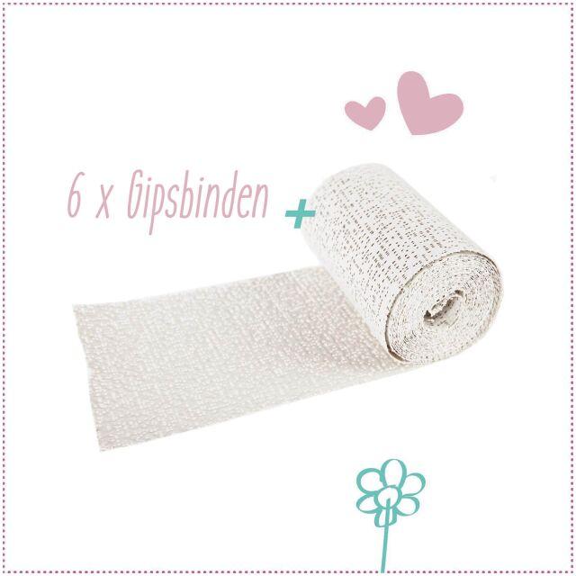 Babybauch Gipsabdruck Set für Schwangere praxy®