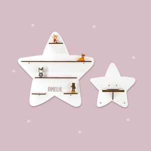 """Personalized shelf """"Star"""" suitable for Toniebox..."""