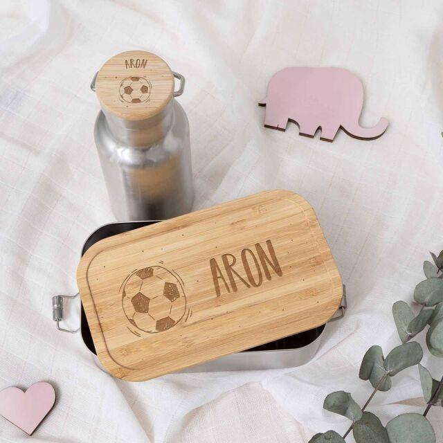 """Lunchbox & Trinkflasche """"Fußball""""..."""