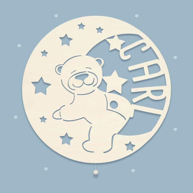 "Night Light ""Berti the Bear in the Moon""..."
