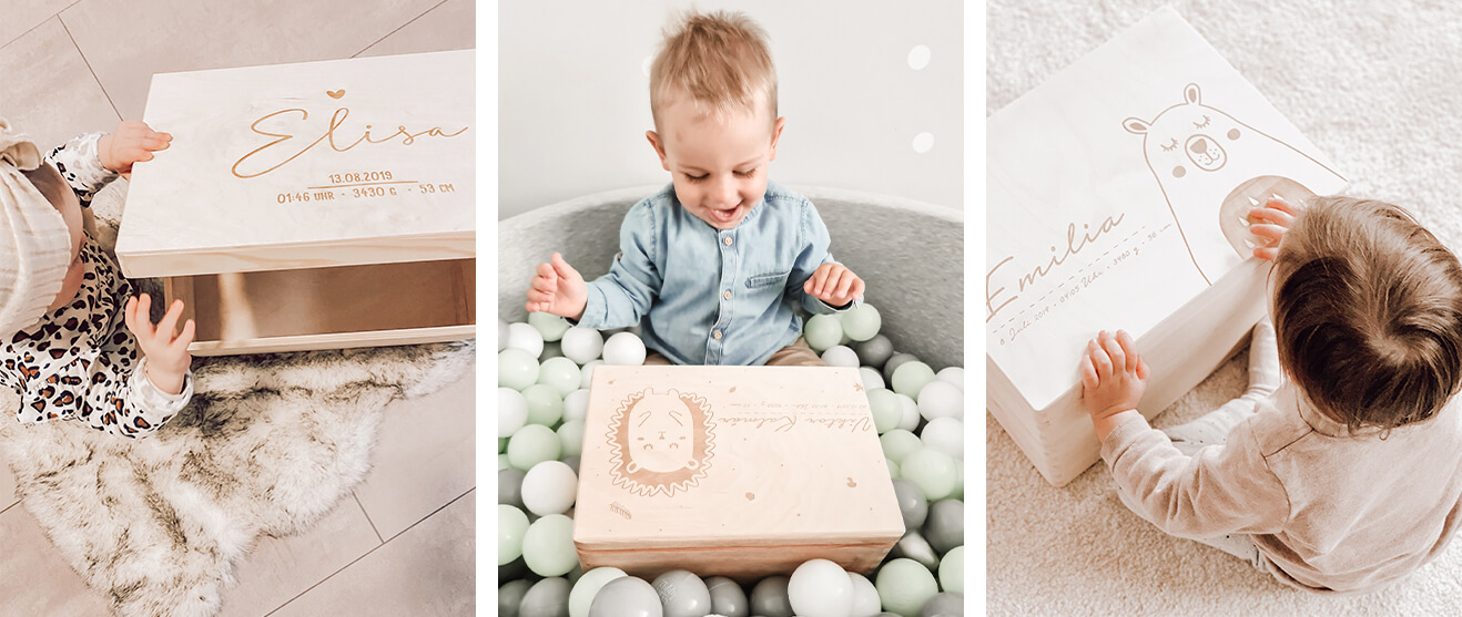 Kisten, Boxen & Brettchen