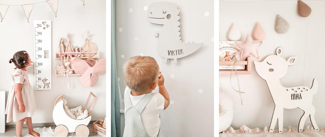 Kinderzimmer Wanddekoration